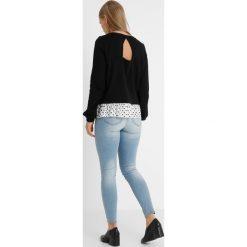 Bluzy rozpinane damskie: Vero Moda Petite VMLINIT Bluza black