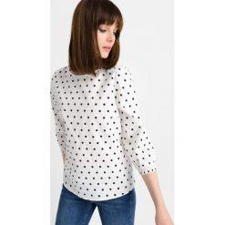 Bluzki asymetryczne: Bluzka w grochy