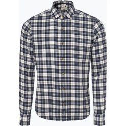 DENIM by Nils Sundström - Koszula męska, niebieski. Niebieskie koszule męskie w kratę marki DENIM by Nils Sundström, l, z denimu. Za 129,95 zł.
