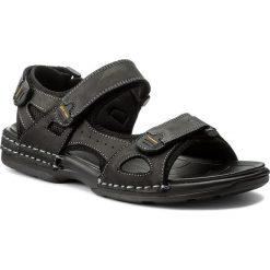 Sandały GINO ROSSI - MN2536-TWO-BG00-9900-T 99. Czarne sandały męskie skórzane marki Gino Rossi. W wyprzedaży za 139,00 zł.