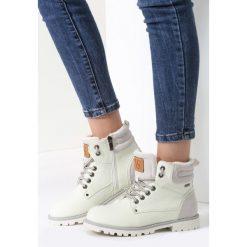 Miętowe Traperki Blue Shoes. Białe buty zimowe damskie marki vices. Za 89,99 zł.