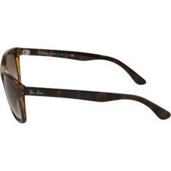 RayBan Okulary przeciwsłoneczne brown. Szare okulary przeciwsłoneczne męskie wayfarery marki Ray-Ban, z materiału. Za 539,00 zł.