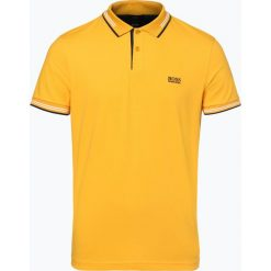 BOSS Athleisurewear - Męska koszulka polo – Paul, żółty. Żółte koszulki polo BOSS Athleisurewear, l, w paski. Za 399,95 zł.