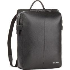 Plecak CALVIN KLEIN BLACK LABEL - Double Tack Backpack K50K503458 001. Czarne plecaki męskie marki Calvin Klein Black Label, z materiału. Za 1399,00 zł.