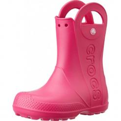 Buty dziecięce Handle Rain Boot candy pink r. 27 (12803). Różowe buciki niemowlęce marki Crocs. Za 100,95 zł.