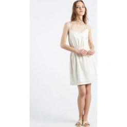Sukienki hiszpanki: Sukienka Vestido Bjorn na cienkich ramiączkach
