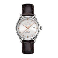 PROMOCJA ZEGAREK CERTINA DS 1 Powermatic 80 C029.807.16.031.01. Szare zegarki męskie CERTINA, ze stali. W wyprzedaży za 2323,20 zł.