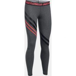 Legginsy sportowe damskie: Under Armour Legginsy damskie Favourite Engineered Leggings szaro-różowe r. XS (1303334-091)