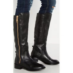 ALDO MIHAELA Kozaki black. Czarne buty zimowe damskie ALDO, z materiału. W wyprzedaży za 559,20 zł.