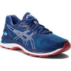Buty ASICS - Gel-Nimbus 20 T800N Blue Print/Race Blue 400. Niebieskie buty do biegania męskie Asics, z materiału. W wyprzedaży za 529,00 zł.
