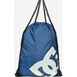 DC - Plecak. Szare plecaki męskie DC, z poliesteru. W wyprzedaży za 39,90 zł.