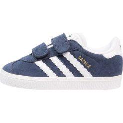 Trampki chłopięce: adidas Originals GAZELLE Tenisówki i Trampki collegiate navy/footwear white