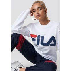 FILA Bluza Classic Logo - White. Białe bluzy rozpinane damskie Fila, s, z długim rękawem, długie. Za 202,95 zł.