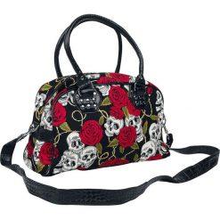 Banned Alternative Skulls And Roses Torebka - Handbag czarny. Czarne torebki klasyczne damskie Banned Alternative, z nadrukiem, z nadrukiem. Za 144,90 zł.