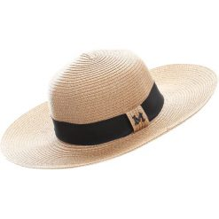 Brązowy Kapelusz Beeskep. Białe kapelusze damskie marki Born2be, na lato. Za 49,99 zł.