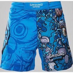 Spodenki i szorty męskie: Ground Game Sportswear Spodenki MMA Oni niebieskie r.  L