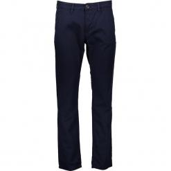 Spodnie chino - Regular Fit - w kolorze granatowym. Niebieskie chinosy męskie marki GALVANNI, l, z okrągłym kołnierzem. W wyprzedaży za 99,95 zł.