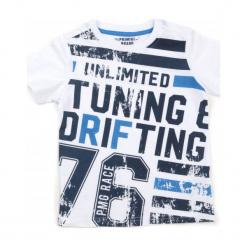 Primigi T-Shirt Chłopięcy 122 Biały. Białe t-shirty chłopięce Primigi. W wyprzedaży za 59,00 zł.