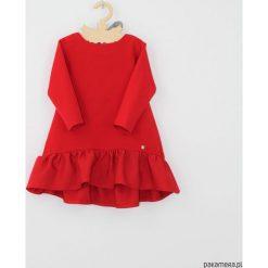Sukienka szara z koronka. Szare sukienki dziewczęce z falbanami Pakamera, w koronkowe wzory, z koronki. Za 129,00 zł.
