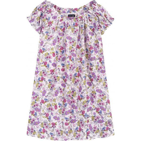 14047bae70d4d2 Sukienka z marszczeniami dla dziewczynki 9-13 lat - Niebieskie ...