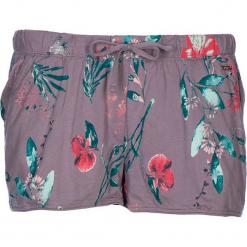 Szorty piżamowe w kolorze fiołkowym. Fioletowe piżamy damskie marki FOUGANZA, z bawełny. W wyprzedaży za 40,95 zł.