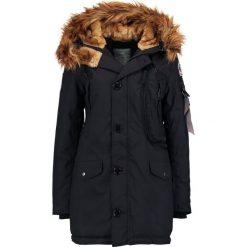 Alpha Industries POLAR Płaszcz zimowy black. Czarne płaszcze damskie pastelowe Alpha Industries, na zimę, l, z materiału. Za 1009,00 zł.
