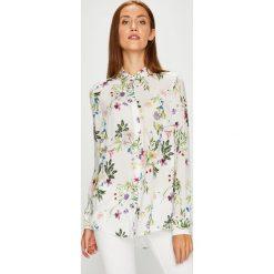 Answear - Koszula Violet Kiss. Szare koszule damskie marki ANSWEAR, l, z dzianiny, casualowe, z klasycznym kołnierzykiem, z długim rękawem. W wyprzedaży za 129,90 zł.