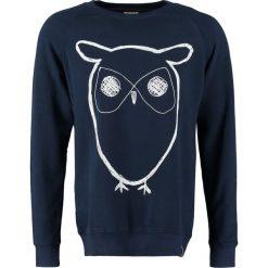 Bejsbolówki męskie: Knowledge Cotton Apparel BIG OWL Bluza navy