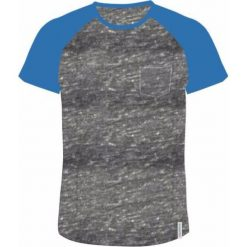 AQUAWAVE Koszulka męska BAMA light grey melange/campanula r. L. Szare koszulki sportowe męskie AQUAWAVE, l. Za 47,12 zł.