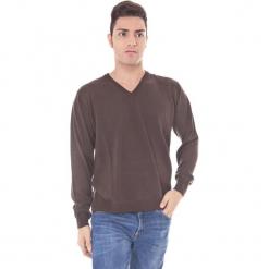 Sweter w kolorze brązowym. Brązowe swetry klasyczne męskie Just Cavalli, Calvin Klein, Lee, m. W wyprzedaży za 129,95 zł.