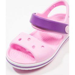 Crocs CROCBANDKIDS Sandały kąpielowe carnation/amethyst. Czarne sandały chłopięce marki Crocs, z materiału. Za 129,00 zł.