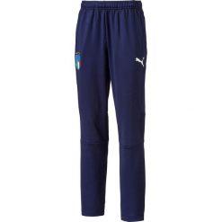 Spodnie sportowe 8 - 16 lat. Niebieskie spodnie chłopięce Puma, z dresówki. Za 272,96 zł.