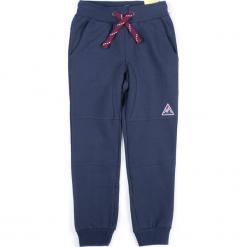 Spodnie. Niebieskie chinosy chłopięce TIME TO MOVE ON, z bawełny. Za 44,90 zł.