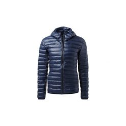 Kurtki pikowane adidas  Puchowa kurtka z kapturem Varilite. Niebieskie kurtki męskie pikowane Adidas, m, z puchu, z kapturem. Za 499,00 zł.
