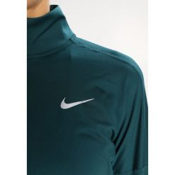 Nike Performance RUNNING DRY Koszulka sportowa dark atomic teal/heather/reflective silver. Niebieskie topy sportowe damskie marki Nike Performance, l, z elastanu. W wyprzedaży za 164,25 zł.