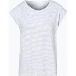 Esprit Casual - T-shirt damski, niebieski. Niebieskie t-shirty damskie Esprit Casual, l, w paski. Za 59,95 zł.