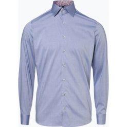 Olymp Level Five - Koszula męska łatwa w prasowaniu, niebieski. Niebieskie koszule męskie na spinki OLYMP Level Five, m, paisley, ze stójką. Za 249,95 zł.
