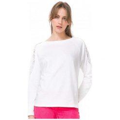 Bluzy damskie: Desigual Bluza Damska Mansion Xs Biały