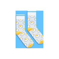BananaSocks - skarpetki JAJECZNICA. Szare skarpetki damskie marki Banana socks. Za 27,99 zł.