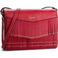 Torebka LIU JO - M Crossbody Brera N68192 E0031 Red 91656. Czerwone listonoszki damskie Liu Jo, ze skóry ekologicznej, zdobione. Za 599,00 zł.