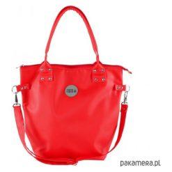 Torba Worek Waterproof All Red. Czerwone torebki klasyczne damskie Pakamera. Za 169,00 zł.