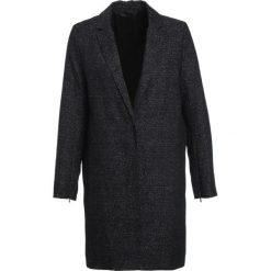 Kurtki i płaszcze damskie: Samsøe & Samsøe CANDANCE Płaszcz wełniany /Płaszcz klasyczny black/blue melange