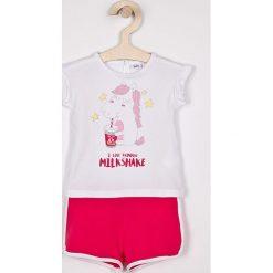 Spodnie dresowe dziewczęce: Blukids – Komplet dziecięcy 74-98 cm