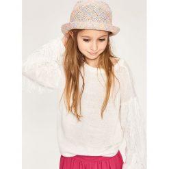 Kapelusze damskie: Pleciony kapelusz - Wielobarwn