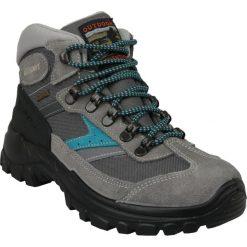 Grisport Grigio 13316S25G. Czarne buty trekkingowe damskie marki Timberland, na zimę. W wyprzedaży za 279,99 zł.