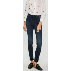 Morgan - Jeansy. Czarne jeansy damskie rurki marki Morgan, z bawełny. W wyprzedaży za 149,90 zł.