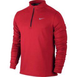 Nike Koszulka Dri-Fit Therma Running Top czerwona r. S (683580 657). Czerwone t-shirty męskie marki Nike, m, dri-fit (nike). Za 208,01 zł.