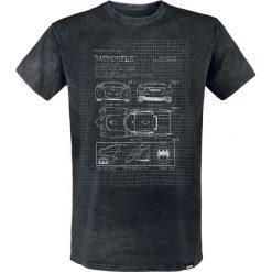 T-shirty męskie z nadrukiem: Batman Batmobile T-Shirt czarny