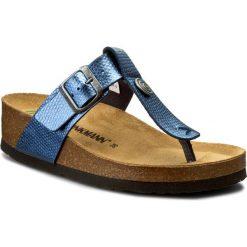 Chodaki damskie: Japonki DR. BRINKMANN - 700997 Blau 5