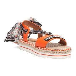 Sandały damskie: Sandały w kolorze pomarańczowym